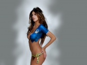 Melissa Satta sexy wallpaper, body paint, sports illustrated, hotiie, model, beauty