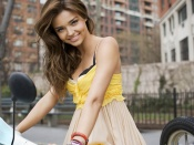 Miranda Kerr sexy spring glamour photo wallpaper