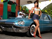 Martina Ivezaj posing for Miss Tuning 2010 Calendar March wallpaper
