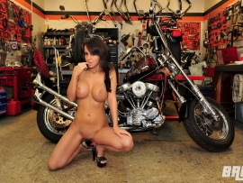 Naked Bryci and Custom Bike (click to view)