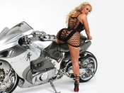 Nicole Austin wallpaper, coco t desktop, babes and bikes, girls and wheels, lambobusa, motorcycles, video vixen