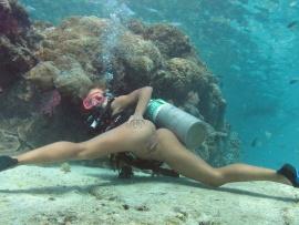 Ami Emmerson Gets Pummeled Underwater  YouPorncom