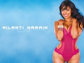 Nilanti Narain Widescreen , Nilanti Narain sexy lingerie wallpaper, hot video vixen photo