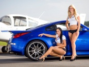Nissan 350 Z and 2 hot models