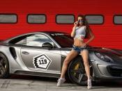 Porsche and nude girls