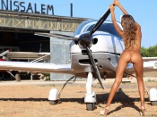 Princess Clover small ass beauty and plane