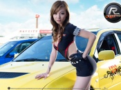 Raycity girl game wallpaper, raycity ea game wallpaper, babes and cars wallpapers, sexy asian desktop