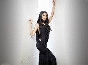 Roselyn Sanchez sexy black dress wallpaper