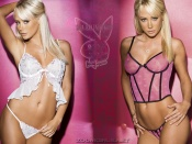 Sara Jean Underwood sexy playboy lingerie line wallpaper