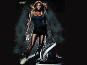 Serena Williams sexy in milk promo photo shoot pictorial, sexy tennis player, hot woman, black girl wallpaper