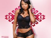 Vanessa Veasley, sexy black lingerie, wallpaper, beauty, video vixen, hot girl