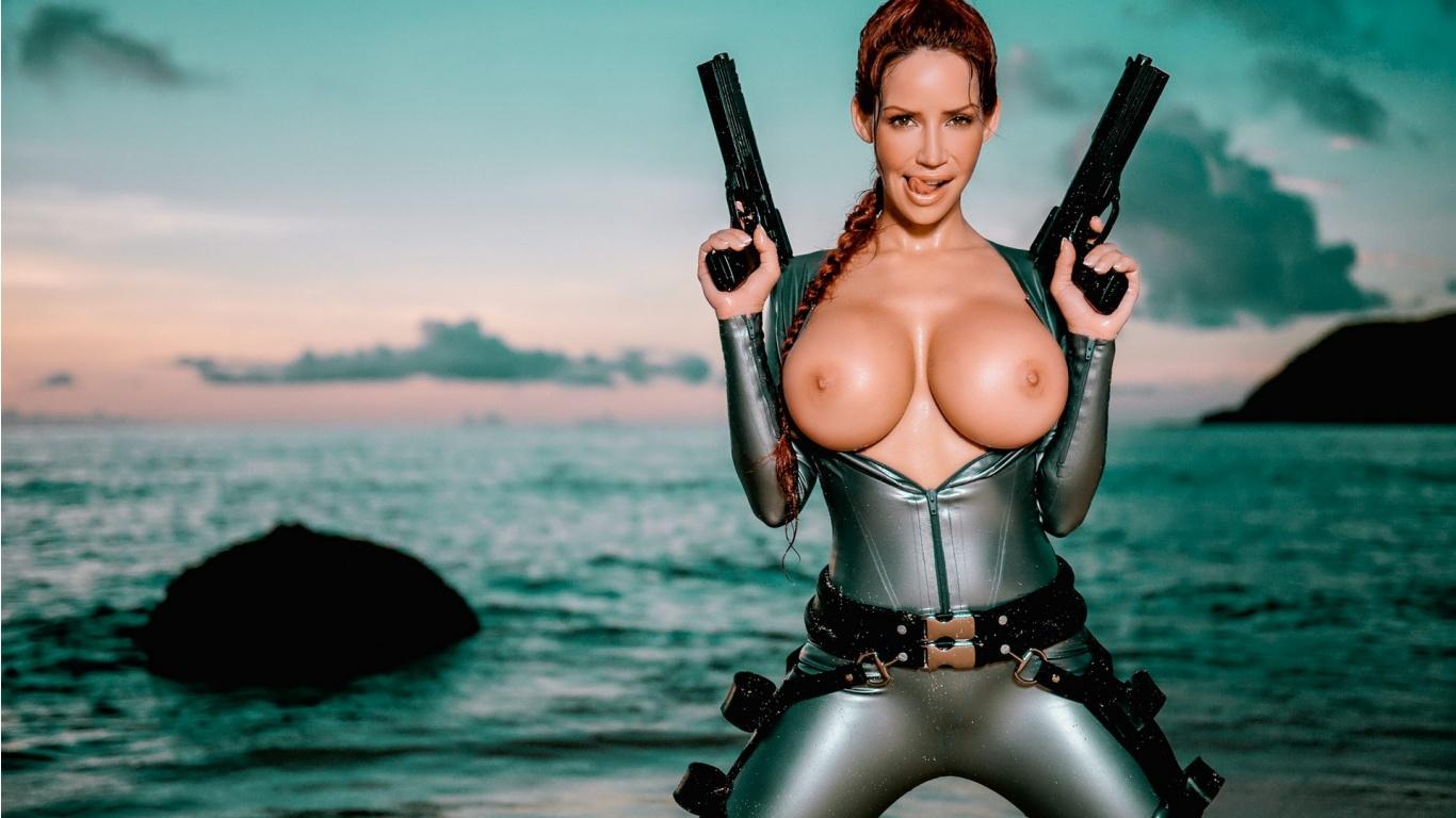 Nude raider cosplay xxx scenes