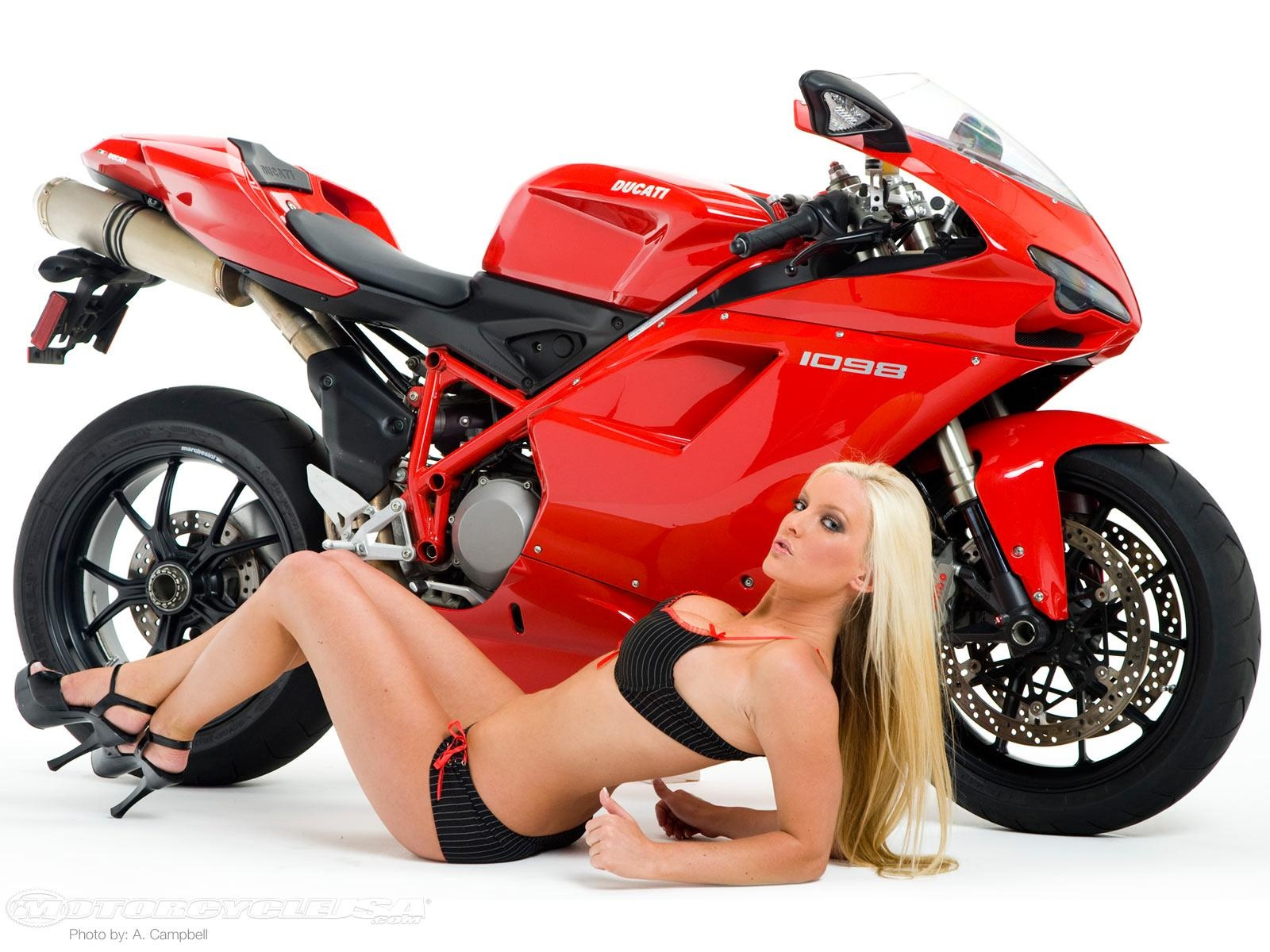 Ducati and babe
