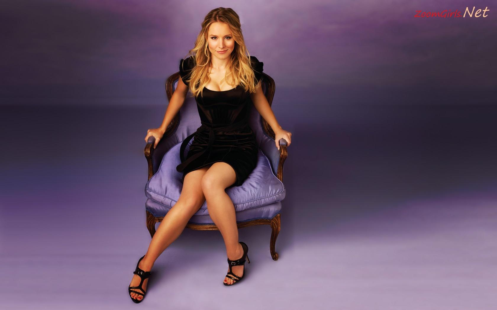 Kristen Bell Wallpaper, sexy heroes tv show actress