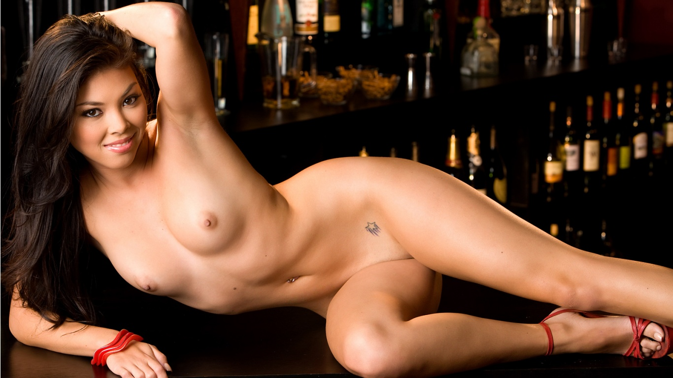 Lynn Delarosa Nude Asian glatbarberet fisse Beauty For Playboy Magazine-4842