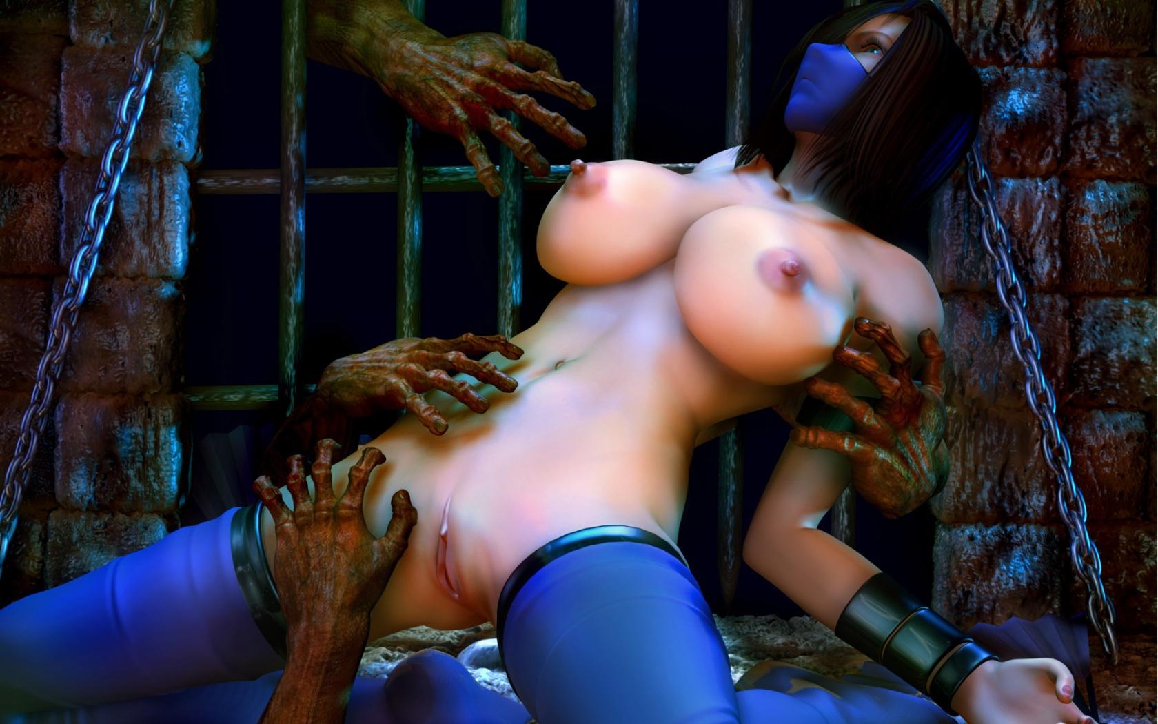 Naked Getls In Mortal Kombat