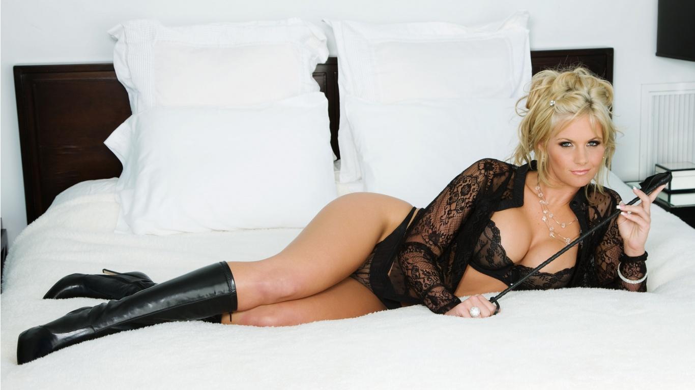 Phoenix marie black lingerie